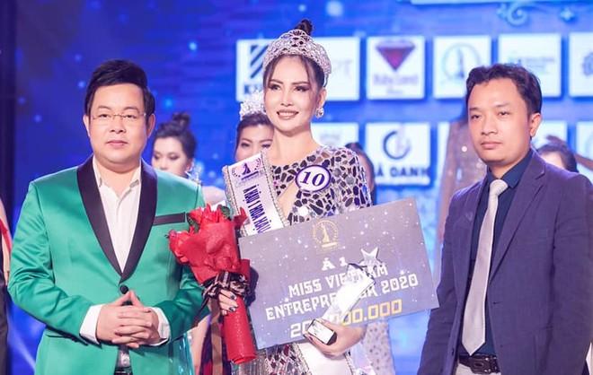 Nhà tài trợ Smile One lên tiếng về vụ lùm xùm Hoa hậu Doanh nhân sắc đẹp Việt 2020 - Ảnh 1