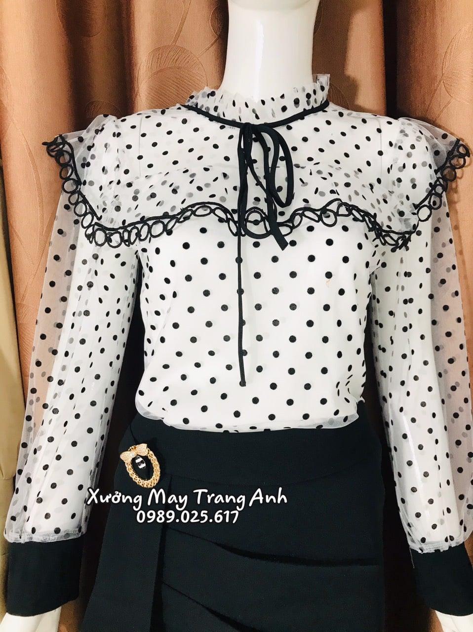 Xưởng may Trang Anh gợi ý các mẫu áo sơ mi giúp bạn nữ tự tin sải bước - Ảnh 3