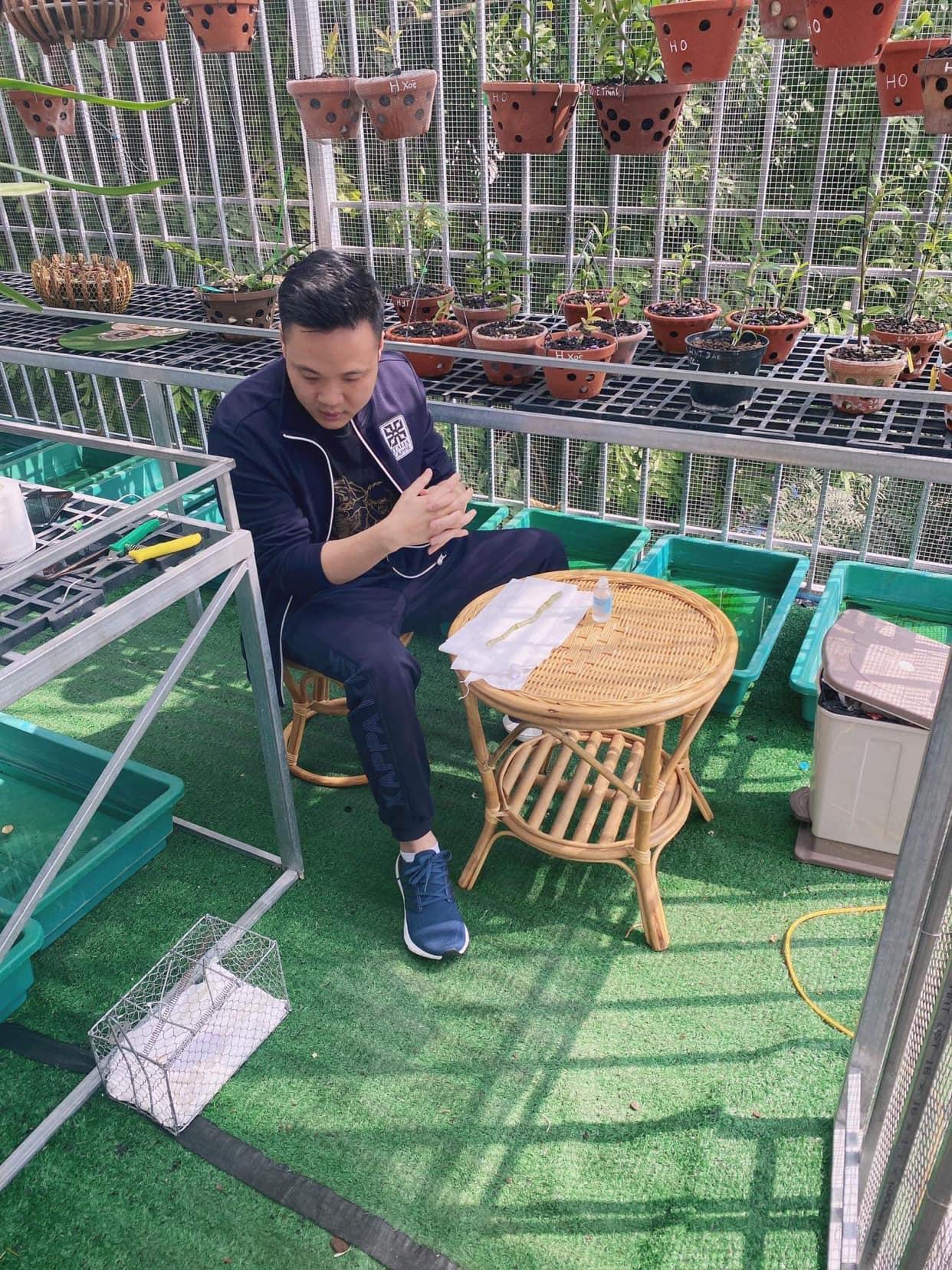 Nguyễn Tiệp: Ông chủ vườn Lan Var giữa lòng thủ đô Hà Nội - Ảnh 2
