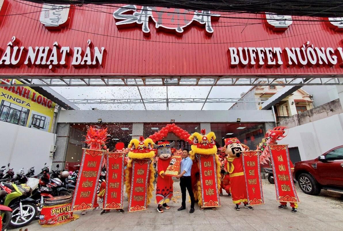 Tưng bừng khai trương nhà hàng Buffet nướng lẩu Nhật Bản SAYAKA - Ảnh 1