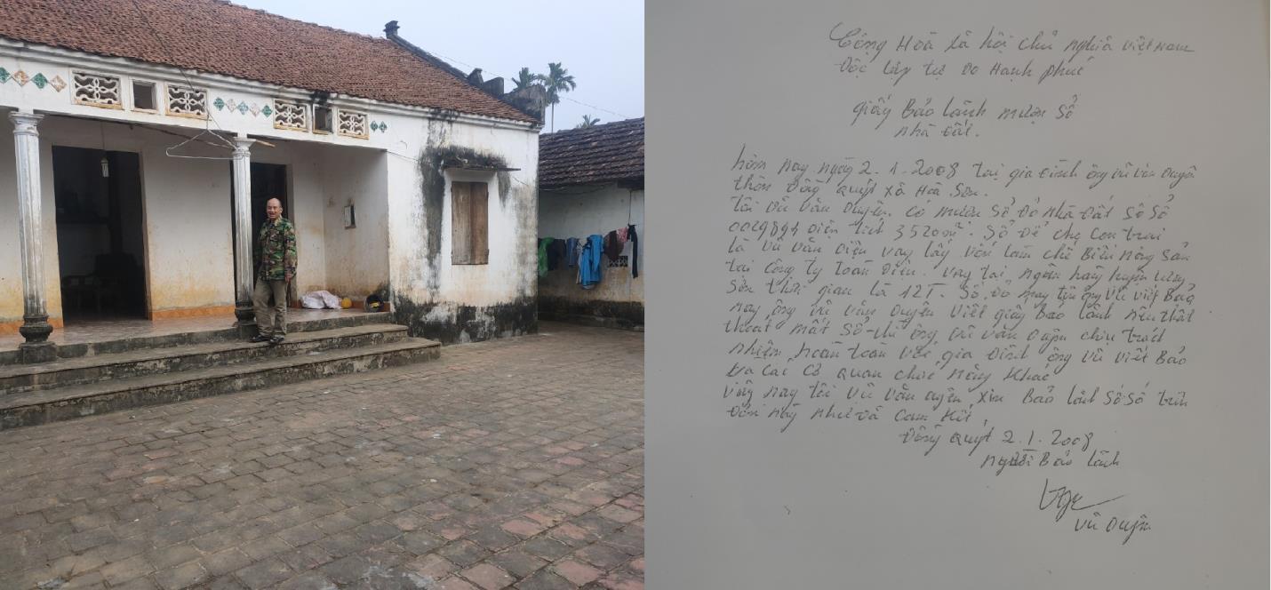 Lương Sơn- Hòa Bình: Không vay ngân hàng, nhiều nông dân nhận giấy báo nợ hàng tỉ đồng - Ảnh 2