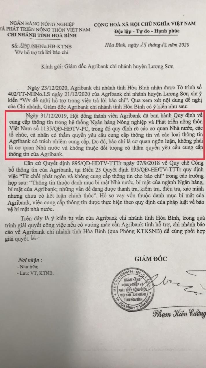 Lương Sơn- Hòa Bình: Không vay ngân hàng, nhiều nông dân nhận giấy báo nợ hàng tỉ đồng - Ảnh 4