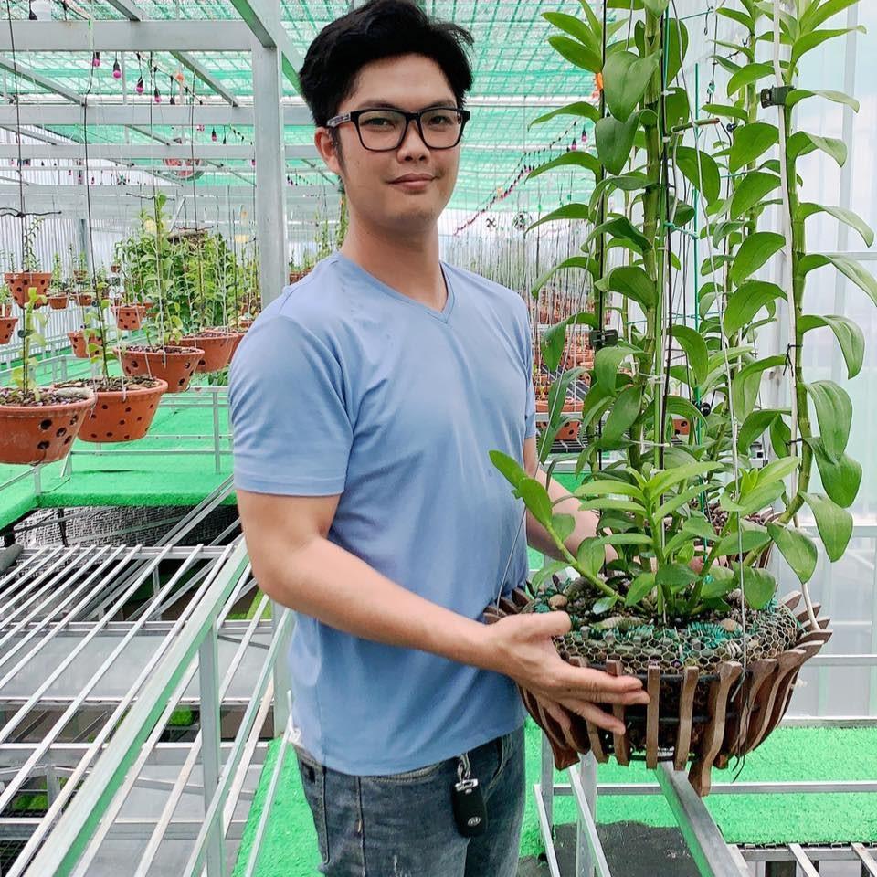 Nghệ nhân Nguyễn Duy Tân: Trồng hoa lan phải thất bại thì mới có nhiều kinh nghiệm - Ảnh 1