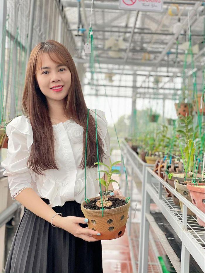 Nghệ nhân Lê Hải Yến cùng niềm đam mê trồng lan - Ảnh 1