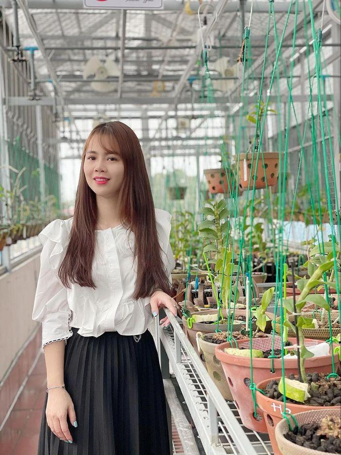 Nghệ nhân Lê Hải Yến cùng niềm đam mê trồng lan - Ảnh 3