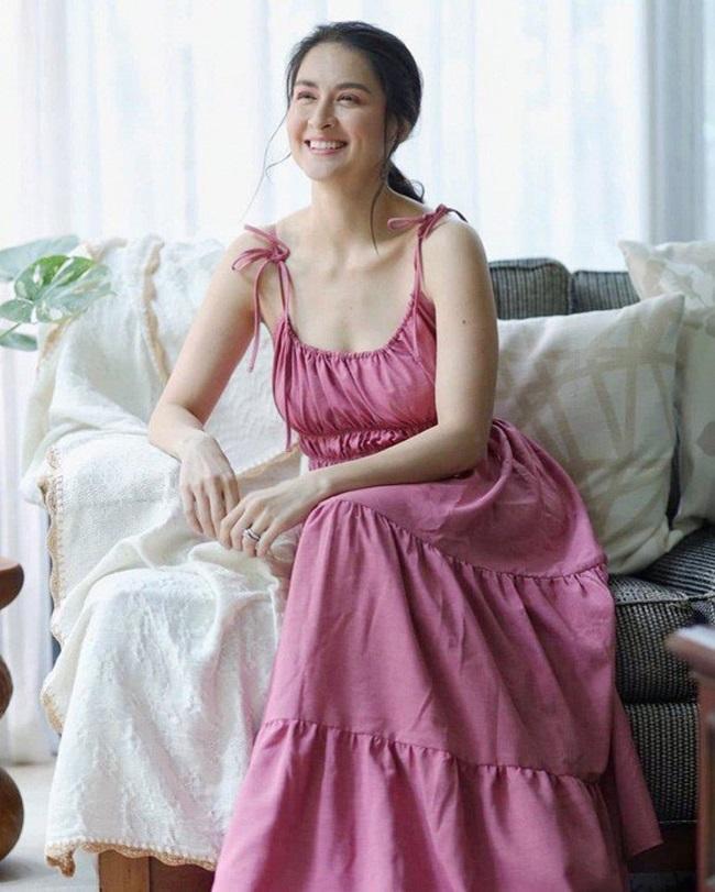 Mỹ nhân đẹp nhất Philippines khoe dáng nuột nà, mặt mộc hoàn hảo không tì vết - Ảnh 5