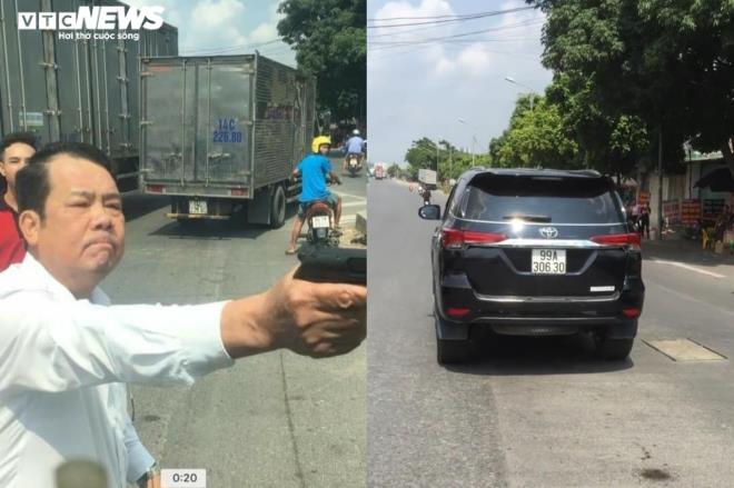 Xét xử lưu động giám đốc rút súng dọa bắn tài xế xe tải ở Bắc Ninh  - Ảnh 1