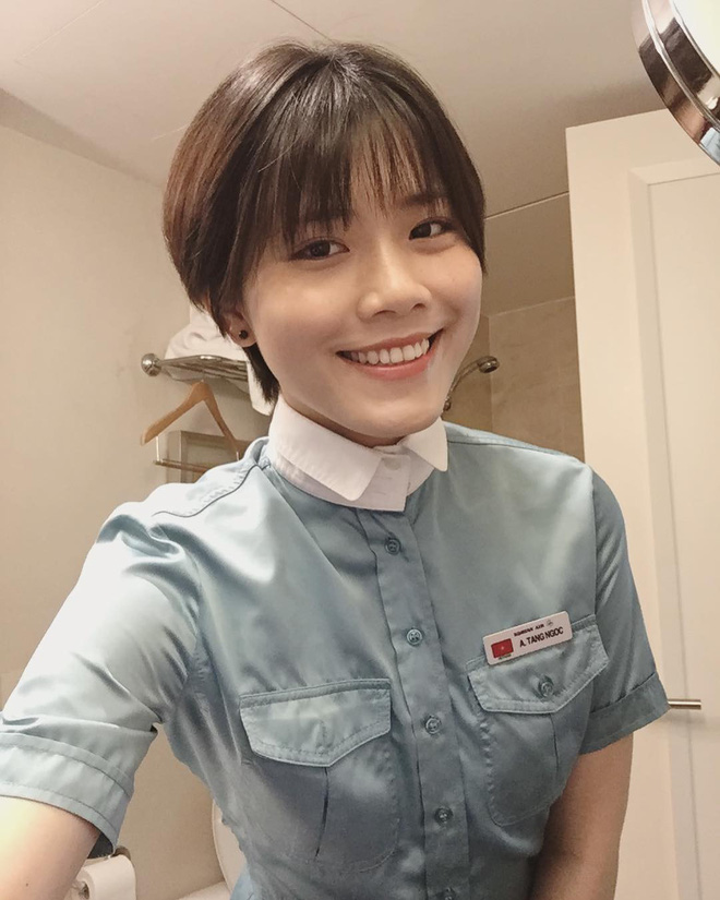 Top 3 cô gái Việt làm tiếp viên hàng không tại Hàn Quốc: Xinh đẹp, giỏi giang, khí chất ngút ngàn - Ảnh 1
