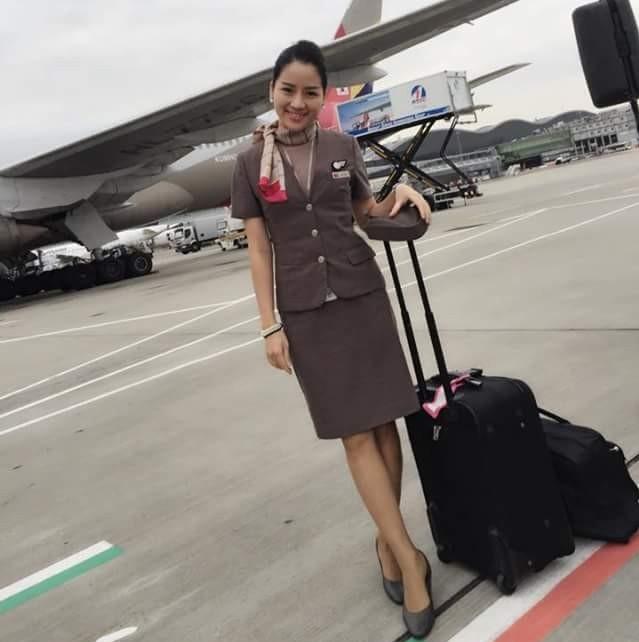 Top 3 cô gái Việt làm tiếp viên hàng không tại Hàn Quốc: Xinh đẹp, giỏi giang, khí chất ngút ngàn - Ảnh 4