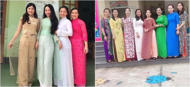 Hàng nghìn áo dài 0 đồng gửi tặng các cô giáo vùng lũ miền Trung - Ảnh 2