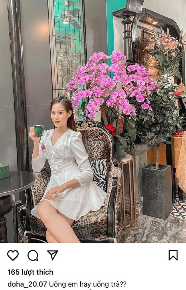 """""""Vựa thính"""" gọi tên tân Hoa hậu Đỗ Thị Hà, đăng ảnh đẹp luôn kèm ngôn tình - Ảnh 1"""