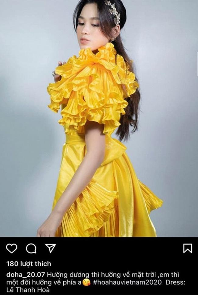 """""""Vựa thính"""" gọi tên tân Hoa hậu Đỗ Thị Hà, đăng ảnh đẹp luôn kèm ngôn tình - Ảnh 5"""