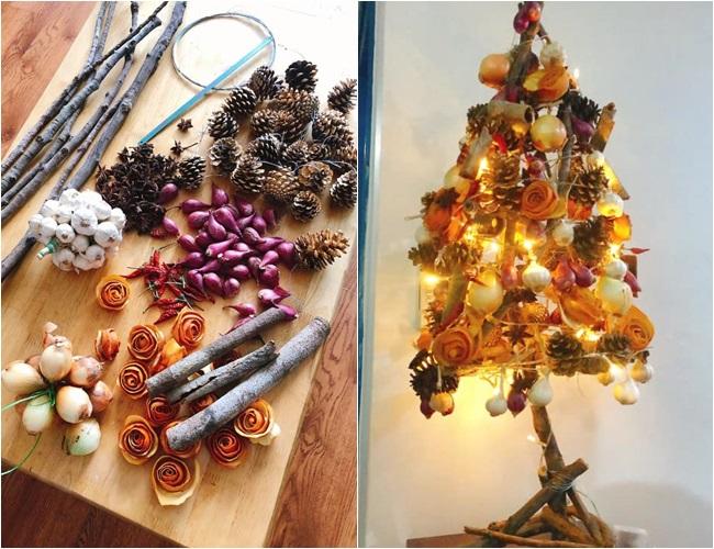 """Giáng sinh 2020 cận kề, cùng cả nhà tự làm cây thông từ những nguyên liệu có """"1-0-2""""  - Ảnh 3"""