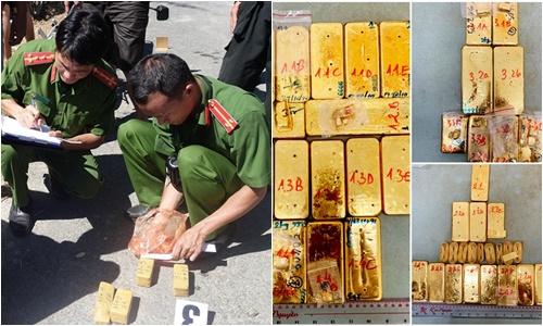 Cuộc vây bắt nghẹt thở đường dây buôn lậu 51kg vàng ròng 9999 ở An Giang - Ảnh 1