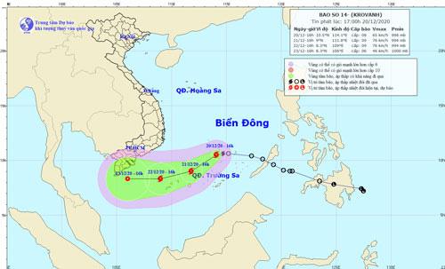 Ứng phó bão số 14, UBND TP.HCM ra công văn khẩn - Ảnh 1