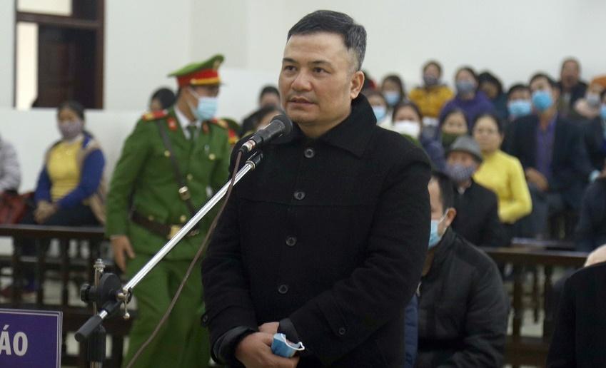 """Xét xử """"trùm"""" đa cấp Lê Xuân Giang: Lừa 68.000 bị hại, không thể nhớ thu bao nhiêu tiền  - Ảnh 1"""