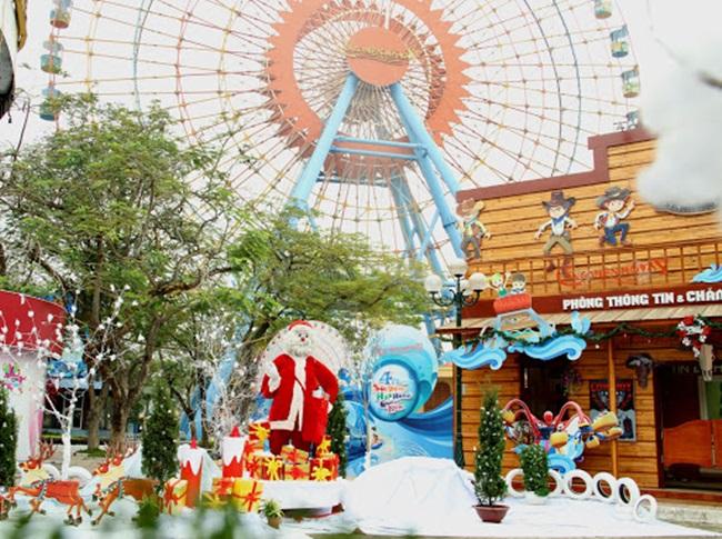 Khám phá những địa điểm chơi Noel lý tưởng ở Hà Nội, TP.HCM - Ảnh 3