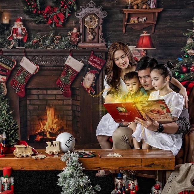 """Mỹ nhân đẹp nhất Philippines khoe ảnh Giáng sinh, dân mạng xuýt xoa nhan sắc của đại gia đình """"cực phẩm"""" - Ảnh 5"""