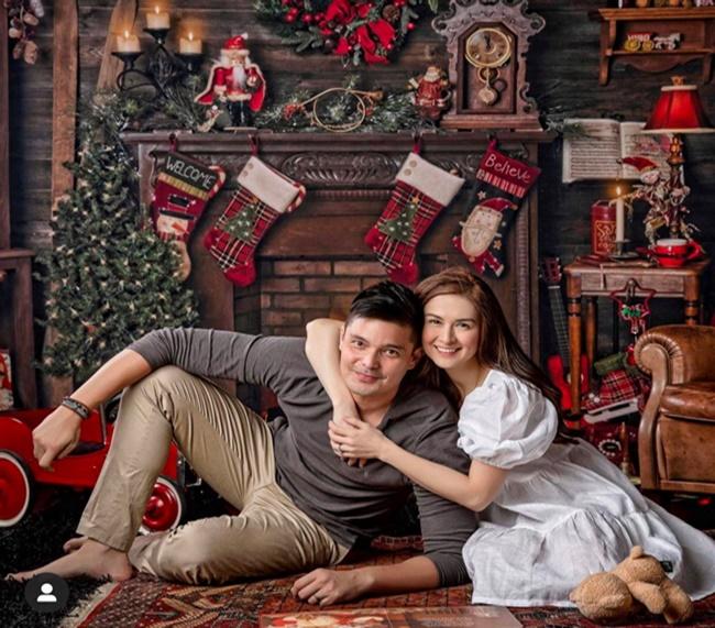 """Mỹ nhân đẹp nhất Philippines khoe ảnh Giáng sinh, dân mạng xuýt xoa nhan sắc của đại gia đình """"cực phẩm"""" - Ảnh 4"""