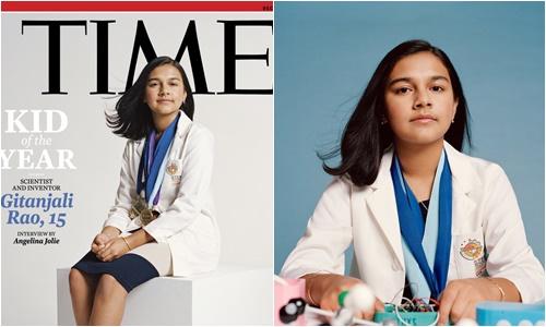 """Chân dung nhà khoa học 15 tuổi được tạp chí Time vinh danh """"Nhân vật nhí của năm""""  - Ảnh 1"""