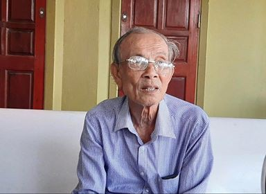 Cụ ông 83 tuổi viết đơn xin không nhận tiền hỗ trợ do ảnh hưởng Covid-19 - Ảnh 1