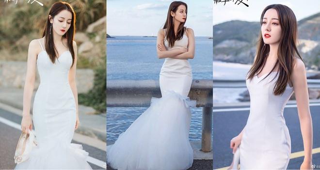 Tin tức giải trí mới nhất ngày 20/5/2020: Địch Lệ Nhiệt Ba mặc váy cưới, xinh đẹp tựa tiên nữ - Ảnh 1