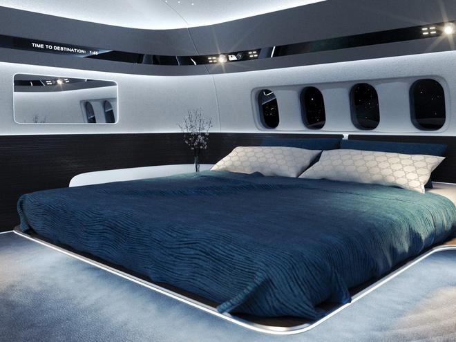 Choáng ngợp với nội thất của máy bay cá nhân xa hoa như tàu vũ trụ tương lai - Ảnh 3