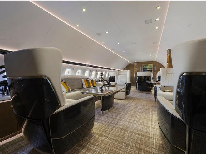 Nội thất chiếc phi cơ tư nhân xa hoa bậc nhất thế giới của tỷ phú Trung Quốc - Ảnh 4