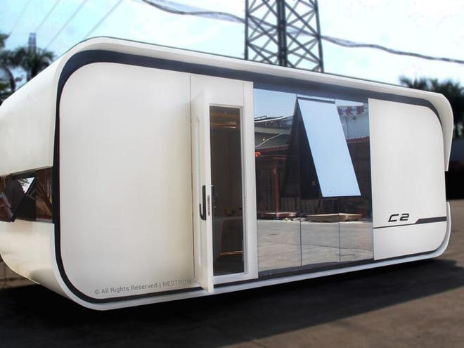 Ngắm căn nhà thông minh có thiết kế như tàu vũ trụ, giá từ 52.000 USD - Ảnh 1