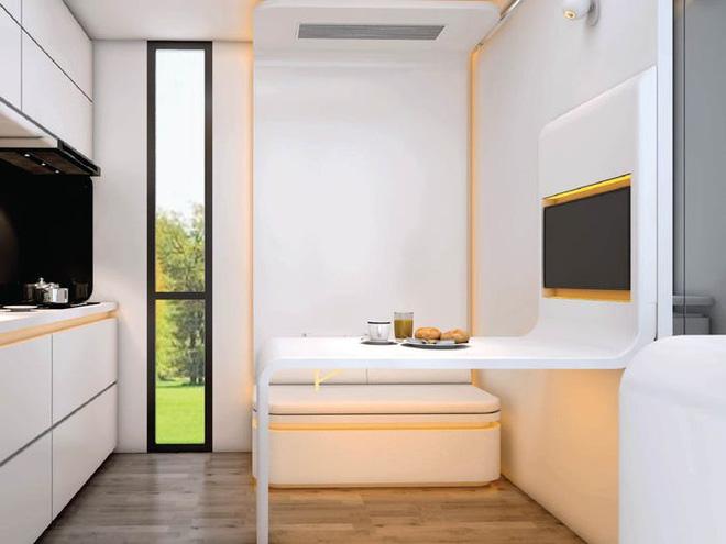 Ngắm căn nhà thông minh có thiết kế như tàu vũ trụ, giá từ 52.000 USD - Ảnh 4