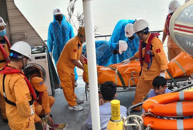 Tìm thấy thi thể 4 ngư dân mất tích trong vụ chìm tàu trên vùng biển Hải Phòng - Ảnh 1