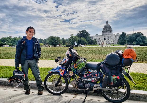 Tiết lộ nơi phượt thủ Đăng Khoa đặt chân sau hơn 1.000 ngày vòng quanh thế giới bằng xe máy - Ảnh 2