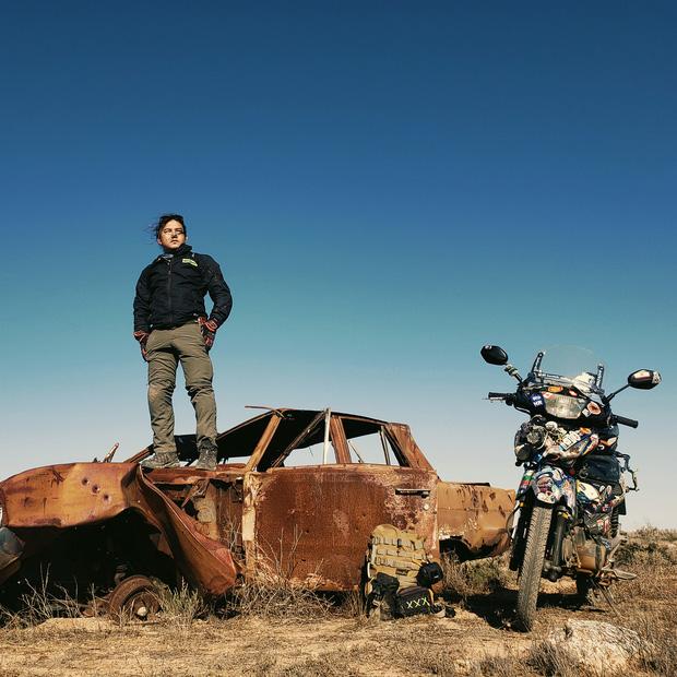 Tiết lộ nơi phượt thủ Đăng Khoa đặt chân sau hơn 1.000 ngày vòng quanh thế giới bằng xe máy - Ảnh 4