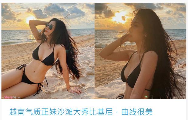"""Hot girl nào được báo Trung khen hết lời, ví von """"Việt Nam là nơi mỹ nữ nhiều như mây trên trời""""? - Ảnh 1"""