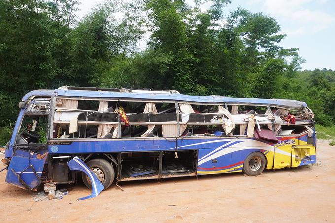 Nhân chứng vụ xe khách lao xuống vực 6 người chết: Cảm giác ớn lạnh nhưng chân vẫn bước đến cứu người - Ảnh 1