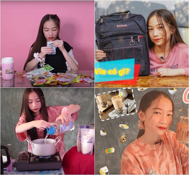 """Nữ sinh 2k7 thành """"thế lực"""" mới trên Youtube, kiếm tiền """"giắt túi"""" nhưng vẫn đạt thành tích học đáng nể - Ảnh 2"""
