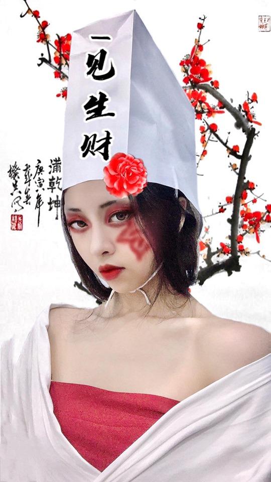 """Hotgirl chế phụ kiện """"chất phát ngất"""", hô biến thành nhân vật cổ trang Trung Quốc đầy """"thần thánh"""" - Ảnh 7"""