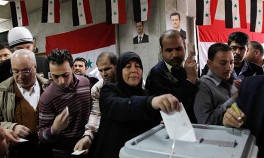 Liên tiếp 2 vụ nổ xảy ra trước thềm bầu cử quốc hội Syria - Ảnh 1