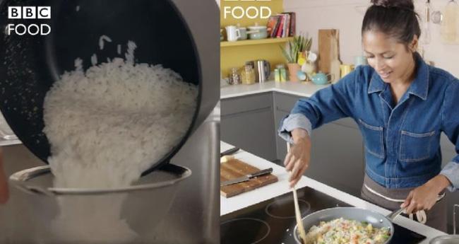 """YouTuber người Anh nấu gạo rồi mới rửa cơm, fan châu Á sửng sốt trước kỹ năng """"trần đời có một"""" - Ảnh 1"""