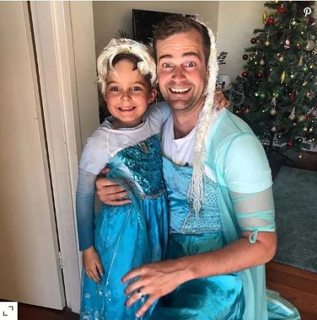 Con trai muốn hóa thân thành công chúa, ông bố không ngại ngần làm điều đặc biệt - Ảnh 1