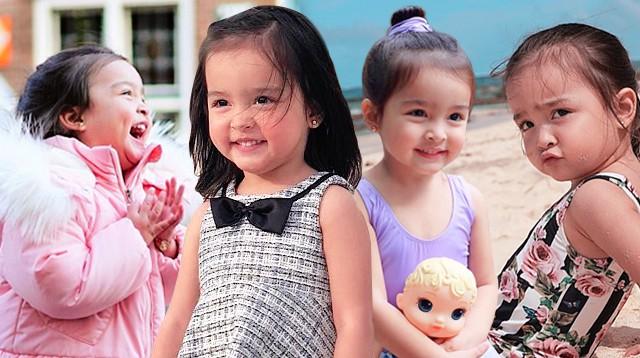 """Mê mẩn với nhan sắc trời cho của con gái mỹ nhân đẹp nhất Philippines, mới 5 tuổi cát-xê đã """"vượt mặt"""" mẹ - Ảnh 3"""