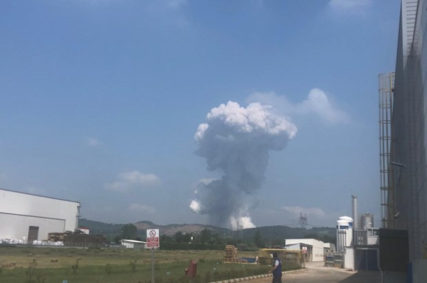 Thổ Nhĩ Kỳ: Nổ nhà máy pháo hoa khiến hơn 70 người thương vong - Ảnh 1