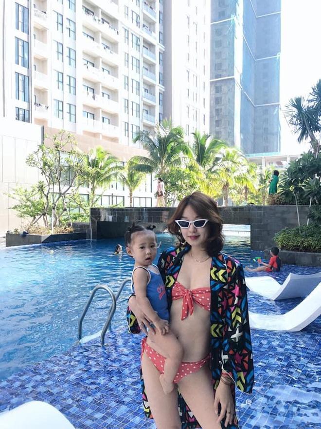 """Cựu hotgirl Mi Vân """"đánh bay"""" hơn 20kg sau sinh, lấy lại nhan sắc gây """"sát thương"""" cao - Ảnh 4"""