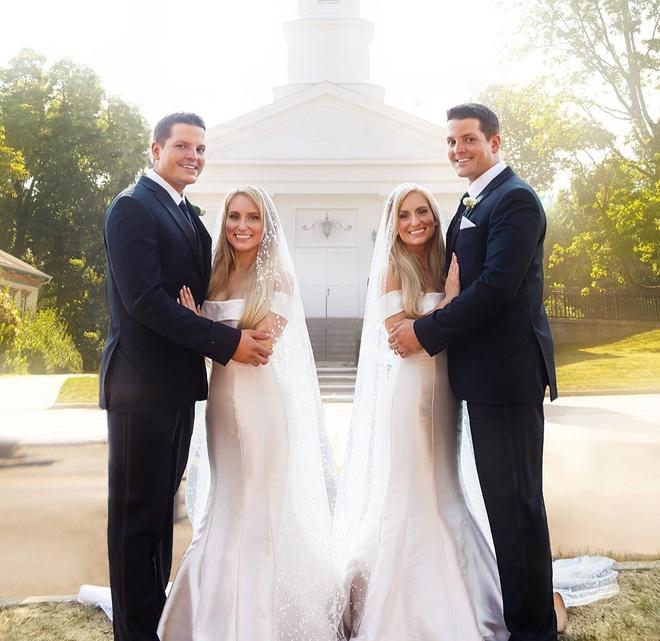 Chuyện lạ: Chị em song sinh cưới được chồng sinh đôi, mang thai cùng thời điểm - Ảnh 2