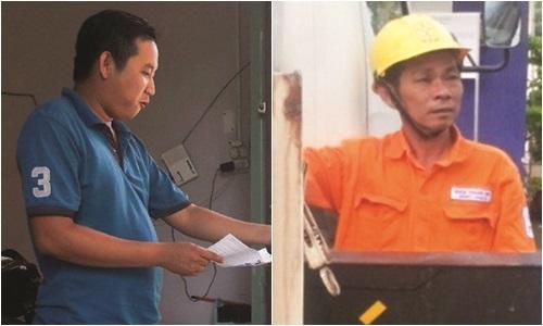 Thợ điện và lái xe dũng cảm cứu người bị điện giật - Ảnh 1