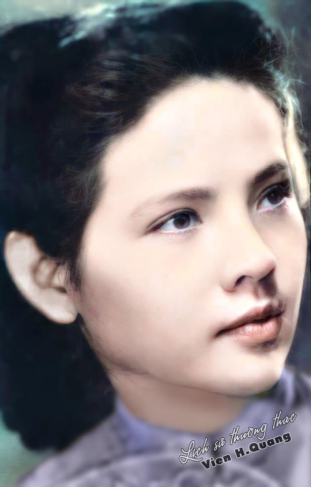 Bức ảnh phục chế tuyệt sắc giai nhân trường Dược Hà Nội 1955 gây bão, chuẩn nét đẹp con gái Hà thành xưa - Ảnh 2