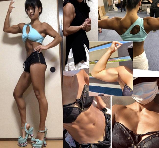 Nàng Lolita Nhật Bản để lộ hình thể cơ bắp như vận động viên cử tạ - Ảnh 3