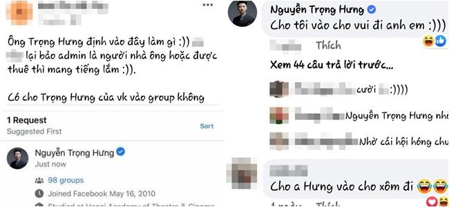 """Trọng Hưng bị lan truyền hình ảnh xin vào hội """"an-ti"""" vợ cũ Âu Hà My, động thái """"trở mặt"""" khiến dân mạng ngao ngán - Ảnh 2"""