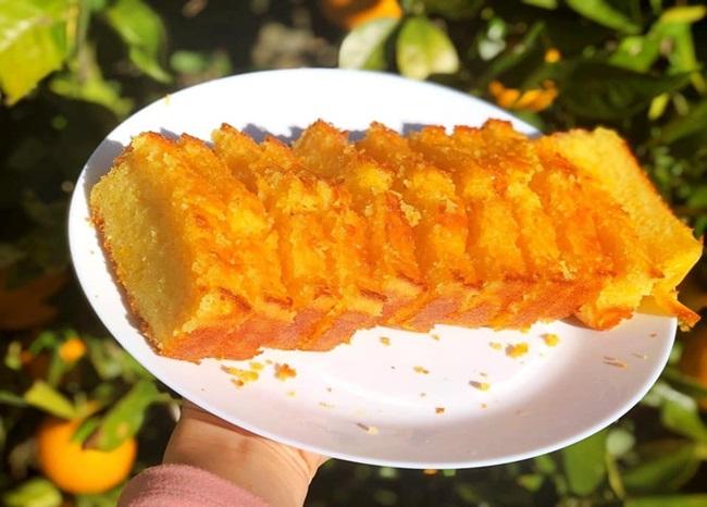 Nhà nhiều cam, tôi làm món bánh thơm ngon cho cả nhà thưởng thức - Ảnh 5