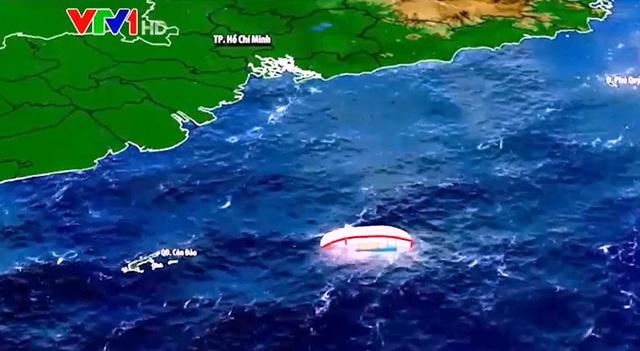 Vụ tàu cá bị chìm trên biển Côn Đảo: Cứu được 7 ngư dân, tiếp tục tìm kiếm 7 người mất tích - Ảnh 1